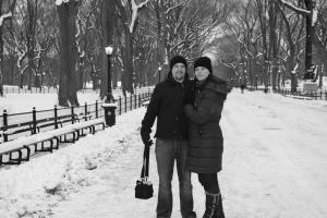 One of the many magical moments - Central Park, March 2009
